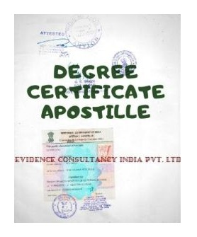 Free Degree Certificate Apostille Attestation