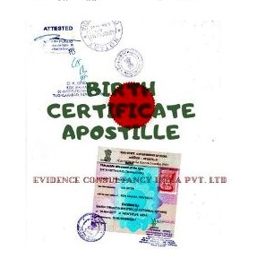 Free Birth Certifciate Apostille