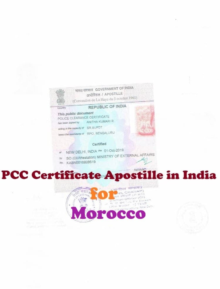 PCC Certificate Apostille for Norway